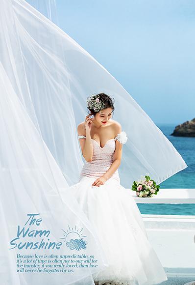 圣托里尼地中海婚礼平台